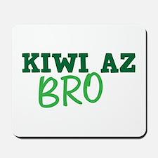KIWI AZ Bro funny New Zealand saying Mousepad