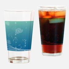 Lotus Shower Curtain Drinking Glass