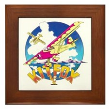 KIT FOX SPEEDSTER Framed Tile