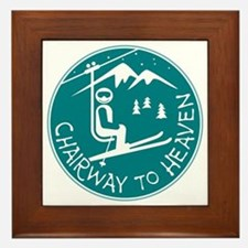 Chairway to Heaven Framed Tile