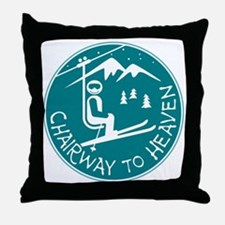 Chairway to Heaven Throw Pillow