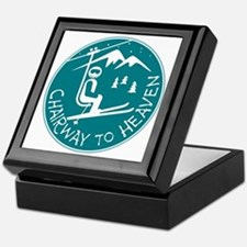 Chairway to Heaven Keepsake Box