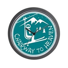 Chairway to Heaven Wall Clock