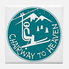 Chairway to Heaven Tile Coaster