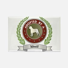 Bullmastiff Adopted Rectangle Magnet (100 pack)