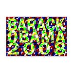 Barack Obama in Color Mini Poster Print
