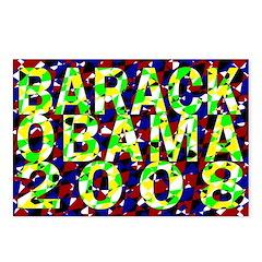 Barack Obama in Color Postcards (Package of 8)