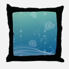 Lotus Puzzle Throw Pillow