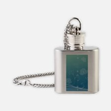Lotus iPhone 4 Slider Case Flask Necklace