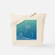 Lotus Ornament (Round) Tote Bag