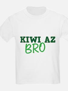 KIWI AZ Bro funny New Zealand saying T-Shirt