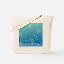 Lotus Gel Mousepad Tote Bag