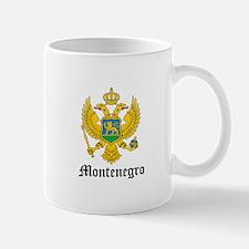 Montenegrin Coat of Arms Seal Large Mugs
