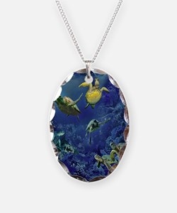 aquarium of sea turtle Necklace