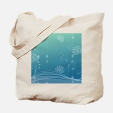 Lotus Round Coaster Tote Bag