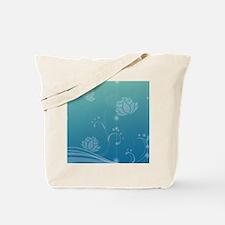 Lotus Flip Flops Tote Bag