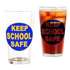 Keep School Safe Drinking Glass