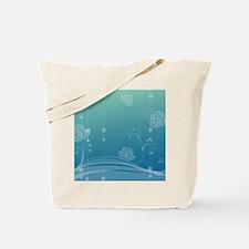 Lotus Square Coaster Tote Bag