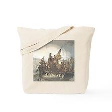 Crossing The Delaware Liberty Tote Bag