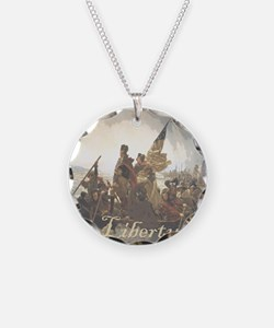 Crossing The Delaware Libert Necklace