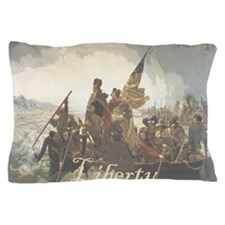 Crossing The Delaware Liberty Pillow Case