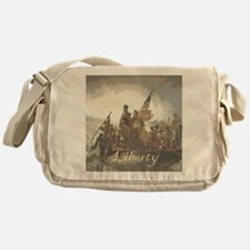 Crossing The Delaware Liberty Messenger Bag