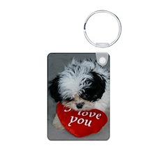 Chrissy ---I Love You Keychains