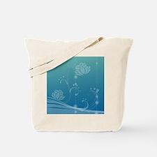 Lotus Luggage Handle Wrap Tote Bag