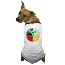 SCNM Medicine Wheel Logo Dog T-Shirt