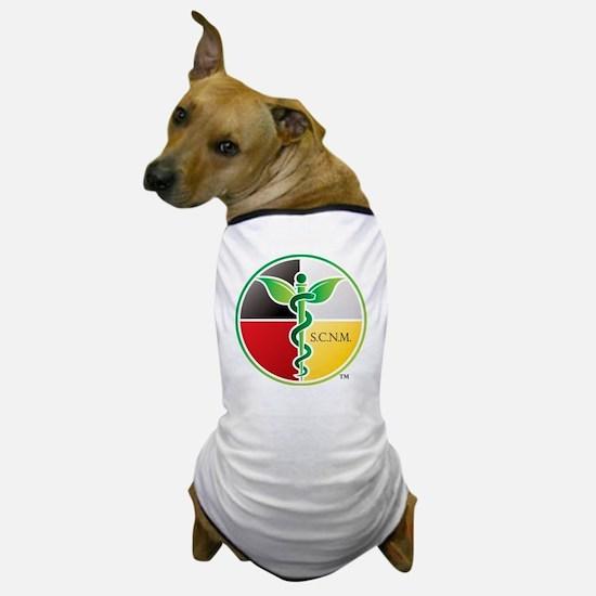 SCNM Medicine Wheel Logo Dog T-Shirt