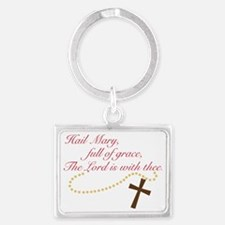 Rosary Landscape Keychain