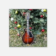 "Gibson Mandolin Under the C Square Sticker 3"" x 3"""