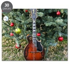 Gibson Mandolin Under the Christmas Tree Puzzle