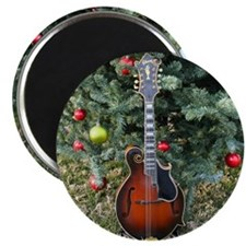 Gibson Mandolin Under the Christmas Tree Magnet