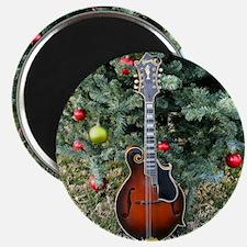 Gibson Mandolin Under the Christmas Tree Magnet