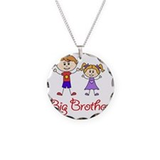 Big Brother Little Sister Pe Necklace