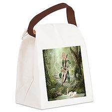 tef_iPad 3 Folio Canvas Lunch Bag