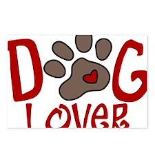 Dog Lover Postcards (Package of 8)