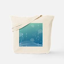 Lotus Square Locker Frame Tote Bag