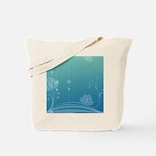 Lotus Rectangular Locker Frame Tote Bag
