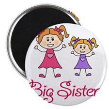 Big Sister with Little Sister Magnet