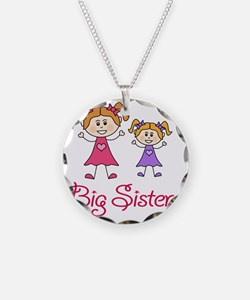 Big Sister with Little Siste Necklace