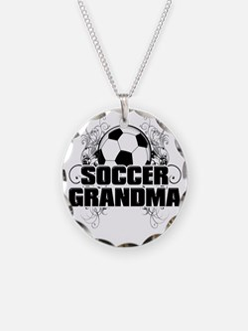 Soccer Grandma (cross) Necklace