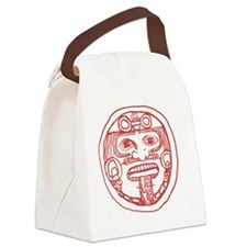 Aztec god Canvas Lunch Bag