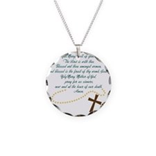 Hail Mary Necklace