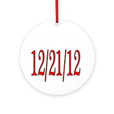 12-21-12 Round Ornament