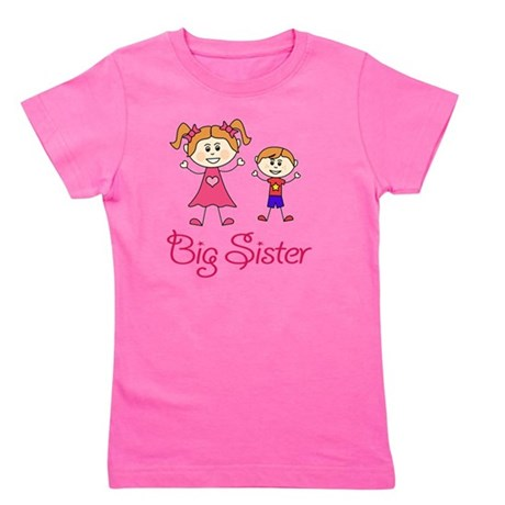 Big Sister with Little Brother Girl's Tee
