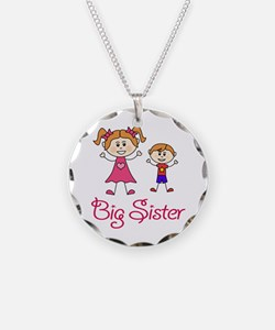 Big Sister with Little Broth Necklace