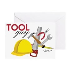 Tool Guy Greeting Card