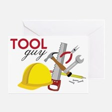 Tool Guy Greeting Card